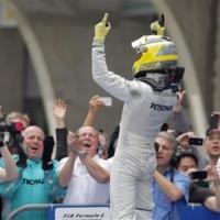 Нико Розберг номер 1 за Гран При на Австралия