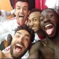 """Българин, португалец, италианец и френски сенегалец от """"Легиона за футболна справедливост"""""""