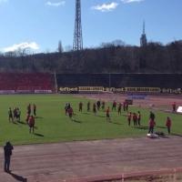Настроение в ЦСКА преди мача в Разград