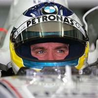 Назака Ник Хайдфелд преди старта за Гран при на Сингапур