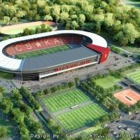 Предложиха на ЦСКА проект за нов стадион