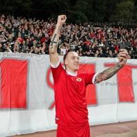 Тончи Кукоч се сбогува с ЦСКА и прости