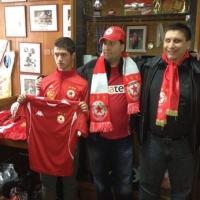 Дарение от Чикаго за новия старт на школата на ЦСКА