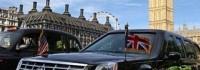 Кадилакът на Обама с такса в Лондон