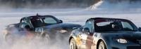 Кабриолетът Mazda MX-5 на лед