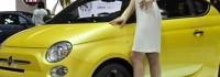 Женева 2011: FIAT 500 Coupe Zagato в жълто