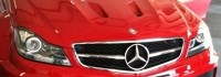 Заснеха Mercedes C63 Black Series във Франция