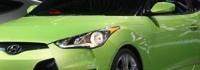 Hyundai Veloster е асиметричен
