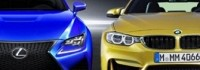 Конкуренция -  Lexus RC-F срещу BMW M4