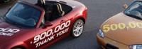 Mazda MX-5 навъртя 900 000 броя