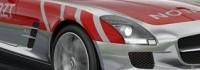 Mercedes SLS AMG - най-бързата линейка