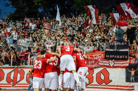 ЦСКА поигра за 11:0 в жегата